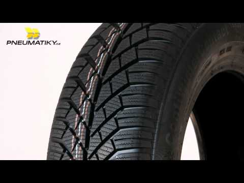Youtube Continental ContiWinterContact TS 830 195/55 R15 85 T Zimní