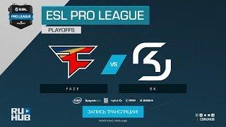 FaZe vs SK - ESL Pro League S7 Finals - map2 - de_mirage [ceh9, CrystalMay]
