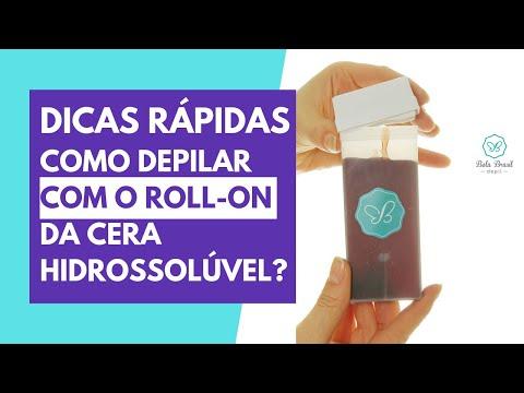 Dicas Rápidas de como depilar com o Roll-on   Depilação com Roll-on