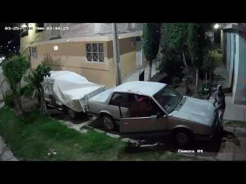 Video del Modus Operandi de ladrones de autos