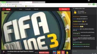 [Fifa Online 3] Playoffs Road to ThaiLand 2017  CHUNG KẾT, fifa online 3, fo3, video fifa online 3