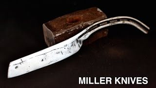 Facebook page https://www.facebook.com/Miller-Knives-285026088542858/Here is a knife I forged from a horseshoe