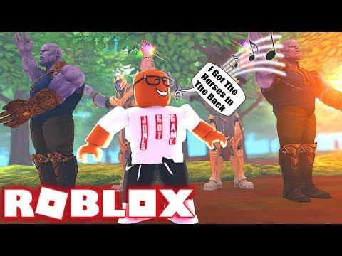 Jones Got Game VS Thanos Giant Dance Off Simulator In Roblox