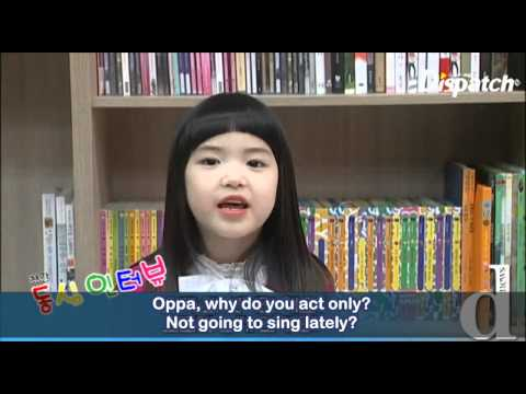 Kim Hyun Joong Interviewed by Children (Eng Sub)