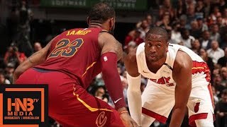 Cleveland Cavaliers vs Miami Heat Full Game Highlights / March 27 / 2017-18 NBA Season