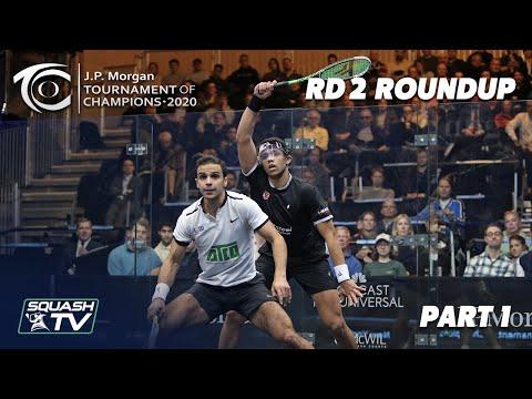 Squash: J.P. Morgan Tournament of Champions 2020 - Men's Rd 2 Roundup [Pt.1]