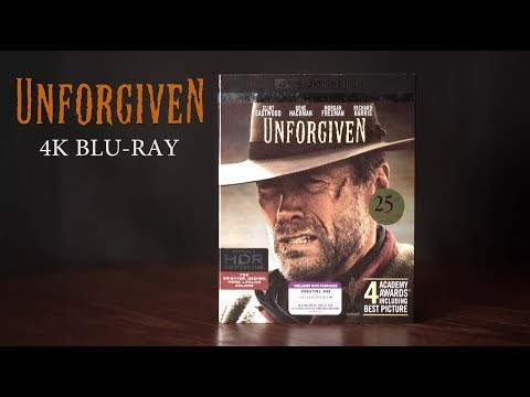 Unforgiven 4K Bluray DTS HD Audio/ Video Quick Review