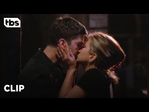 Friends: Rachel and Ross' First Kiss (Season 2 Clip)   TBS