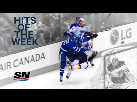 Video: Hits of the Week: Matt Martin's a machine