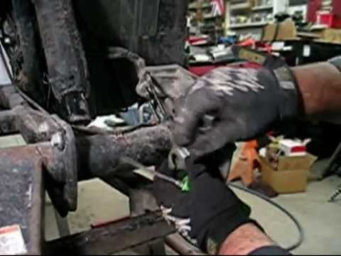 Honda TRX 400 4X4 ATV brake repair. DIY and save $$$$