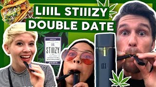 DANK DOUBLE DATE with NEW Disposable Vape Pen! by That High Couple