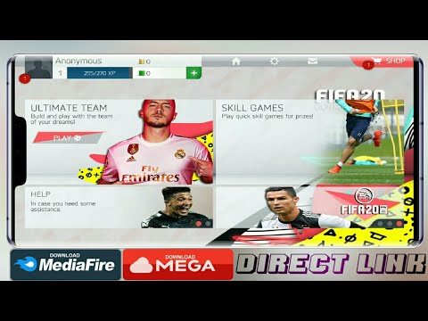 FIFA 20 MOD FIFA 16 Ultimate Team Download Android APK+OBB 1.3GB Update HD Graphics