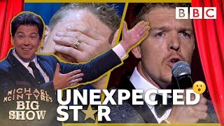 Unexpected Star: Andy the firefighter - Michael McIntyre's Big Show: Series 2 Episode 1 - BBC One