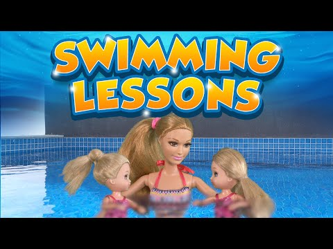 Barbie - The Twins Learn to Swim | Ep.93