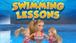 Barbie  The Twins Learn To Swim