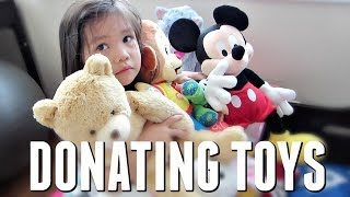 DONATING THEIR TOYS! - May 12, 2017 -  ItsJudysLife Vlogs