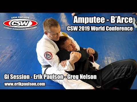 Amputee - B'Arce - Greg Nelson - CSW 2019 World Conference