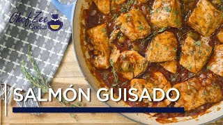 Salmon Guisado | Stew Salmon | Fish and Seafood Recipes | Chef Zee Cooks