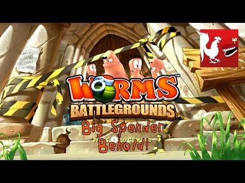 worms battlegrounds xbox one test