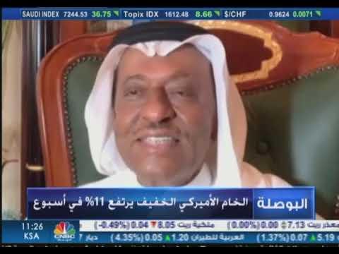 لقاء د.محمد الصبان مع قناة سي ان بي سي حول اتفاق تحالف اوبك++وآثاره الايجابية على تعافي اسعار النفط
