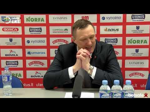"""""""Betsafe–LKL"""" rungtynių komentarai: """"Juventus"""" - """"Dzūkija"""" [2019-03-16]"""