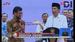 Video Jokowi Ingatkan Warga Banda Aceh Gunakan Dana Desa Secara Bijak - BIS 15/12 MP3, 3GP, MP4, WEBM, AVI, FLV Desember 2018