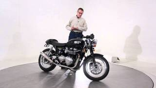 4. 2012 Triumph Thruxton Phantom Black
