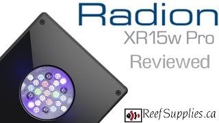 Ecotech Radion XR15 Pro Review Video