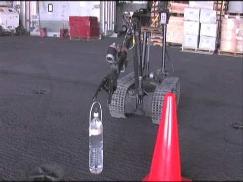 Explosive Ordnance Disposal Specialists Practice Maneuvering a Robot | AiirSource
