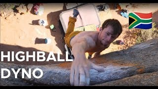 HIGHBALL DYNO! by Bouldering Bobat