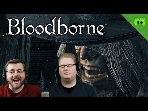 BLOODBORNE # 7 - Jäger Duell «» Let's Play Bloodborne Together   HD Gameplay