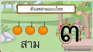สื่อการเรียนการสอน จำนวน 3 และจำนวน 4 ป.1 คณิตศาสตร์