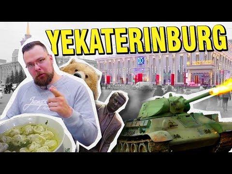 Yekaterinburg for $100: Drive a T-34 and eat Siberian dumplings