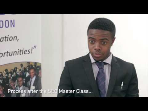 SEO London Master Class Testimonial - James Arnold