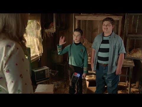 Young Sheldon S03 E09 Sheldon as Mr. Spock at Billy's birthday party Full HD