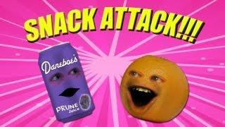 Annoying Orange - Snack Attack (ft. Jamie Oliver)