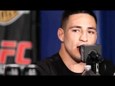 Diego Sanchez post fight talks UFC 121 Win