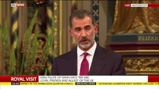 King Felipe of Spain on Gibraltar: I'm confident arrangements that are