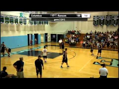 Boys Volleyball - FHSAA District 14 Semifinal - Ransom Everglades vs Christopher Columbus