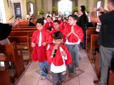 Coroação Sagrado Coração de Jesus - 28 06 2009