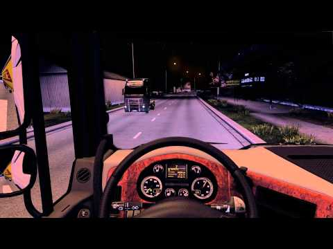 Night driving lighting mod