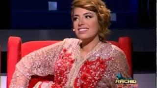 الإذاعية قدس جندل تحاور زوجها ياسين أحجام وتحرجه في بلاطو رشيد شو