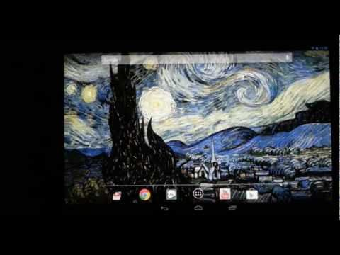 Video of Starry Night 3D