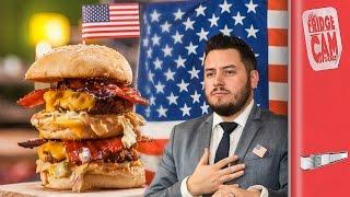 THE ULTIMATE USA FOOD BATTLE | FridgeCam by SORTEDfood