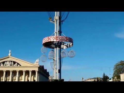живая вывеска, Минск, видео, SolaAir