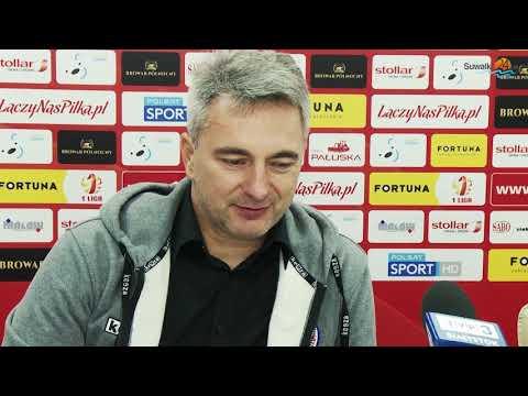 Wigry Suwałki - GKS Tychy 2:2. Bilans meczu: dwóch rannych