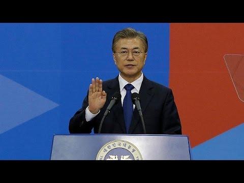 Ορκίστηκε ο νέος Πρόεδρος της Νότιας Κορέας