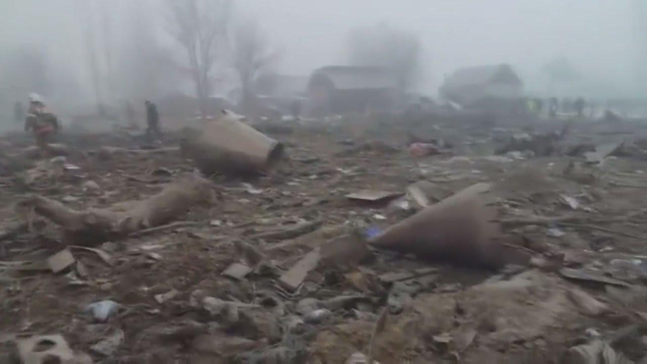 Τουλάχιστον 32 οι νεκροί από την πτώση του Boeing 747 στο Κιργιστάν