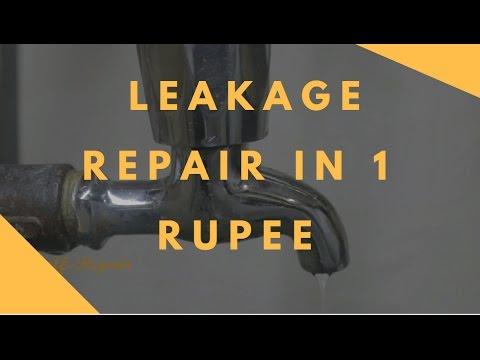 कॉक से पानी टपकना  बंद करे | Leakage Repair in 1 Rupee | SelfRepair