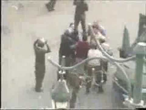 Egyptian police brutality in 2005 elections